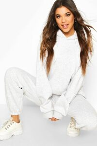 Womens The Basic Mix & Match Oversized Hoodie - grey - S, Grey