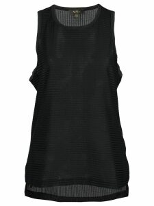 ALALA Mirage Cutaway tank top - Black