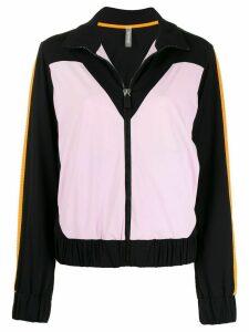 No Ka' Oi colour-block track jacket - Black