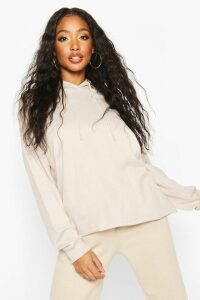 Womens The Basic Oversized Hoody - cream - 16, Cream
