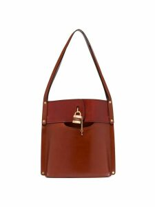 Chloé Aby padlock bucket bag - Brown