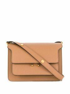 Marni pocket detail tote bag - PINK