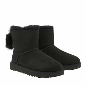 UGG Boots & Booties - Classic Boot Puff Crystal Bow Black - black - Boots & Booties for ladies