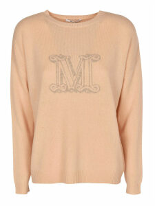 Max Mara Cannes Logo Sweater
