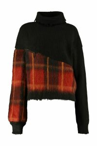 Ben Taverniti Unravel Project Oversized Turtleneck Sweater