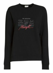 Saint Laurent Call Me After Midnight Sweatshirt