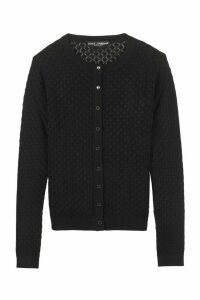 Dolce & Gabbana Open-knit Cardigan