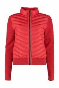 Canada Goose Hybridge Knit Jacket With Padded Panel