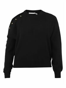 Alice + Olivia Studded Sweatshirt