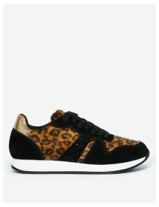 M&S Collection Leopard Print Trainers
