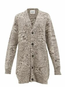 Jil Sander - Oversized Recycled Cashmere Cardigan - Womens - Brown Multi