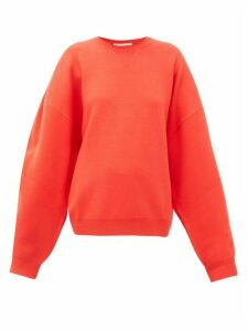 Roksanda - Karuo Dropped-sleeve Sweatshirt - Womens - Red