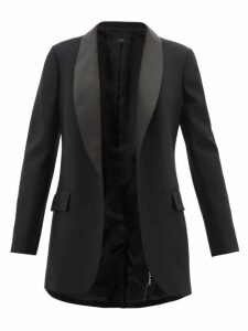 Joseph - Clapton Satin-lapel Twill Tuxedo - Womens - Black