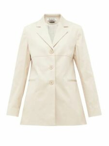 Àcheval Pampa - Borges Stretch-cotton Blazer - Womens - Beige