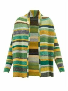 The Elder Statesman - Italy Striped Cashmere Cardigan - Womens - Multi