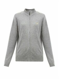 Bella Freud - Suzuka Striped Cashmere-blend Jacket - Womens - Grey