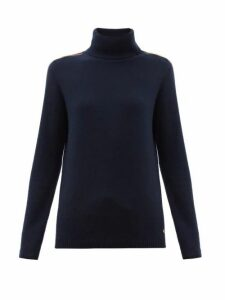 Bella Freud - Suzuka Cashmere-blend Roll Neck Sweater - Womens - Navy