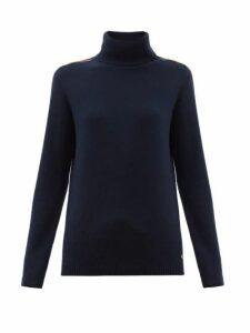 Bella Freud - Suzuka Cashmere-blend Roll Neck Sweater - Womens - Navy