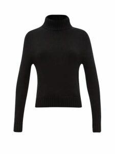 Nili Lotan - Atwood Roll-neck Cashmere Sweater - Womens - Black