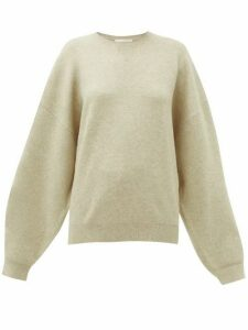 Roksanda - Karuo Dropped-sleeve Sweatshirt - Womens - Beige