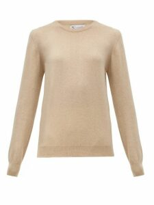 Johnston's Of Elgin - Cashmere Sweater - Womens - Beige