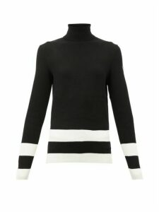 Fusalp - Ubac Roll-neck Sweater - Womens - Black