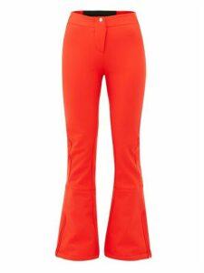 Fusalp - Tipi Ii Flared Soft-shell Ski Trousers - Womens - Red