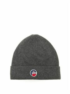 Fusalp - Styx Logo-patch Wool-blend Beanie - Womens - Grey