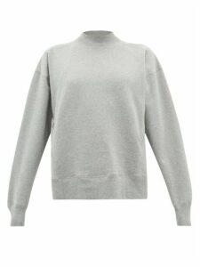 Vaara - Stevie Cotton-blend Sweatshirt - Womens - Grey