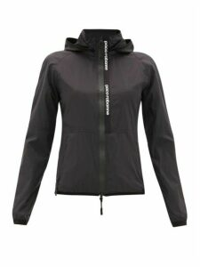 Paco Rabanne - Hooded Nylon Windbreaker Jacket - Womens - Black