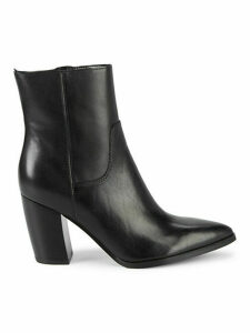 Giana Leather Booties