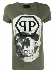 Philipp Plein Skull T-shirt - Green