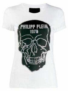 Philipp Plein SS Skull T-shirt - White