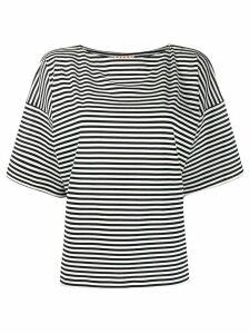 Marni striped T-shirt - Blue