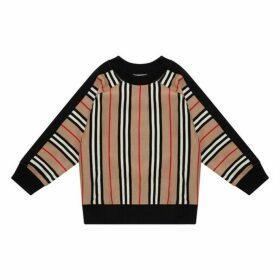 Burberry Beige Stripe Sweatshirt