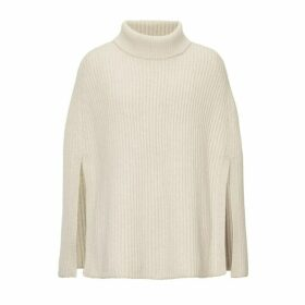 Winser London Lauren Rib Poncho