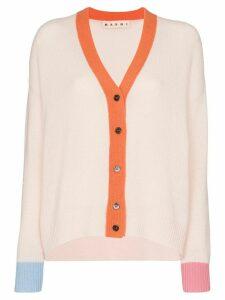 Marni v-neck cashmere cardigan - PINK