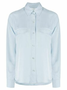 Vince boxy utility shirt - Blue