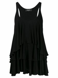 Dsquared2 layered effect vest top - Black