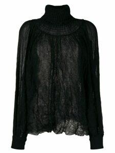 Maison Flaneur smock blouse - Black
