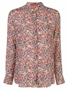 Altuzarra silk floral print shirt - DRAGON FRUIT