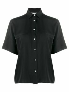 Vince short sleeve jetted pocket shirt - Black