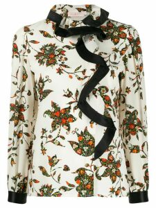 Tory Burch sacred floral blouse - White