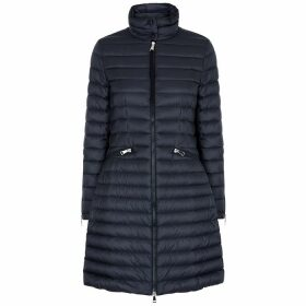 Moncler Sable Navy Quilted Shell Jacket