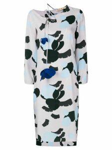 Marni Havana print dress - PINK