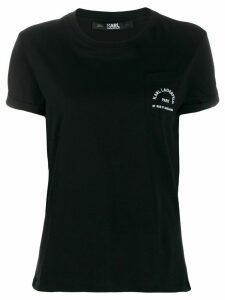 Karl Lagerfeld Address Pocket T-shirt - Black