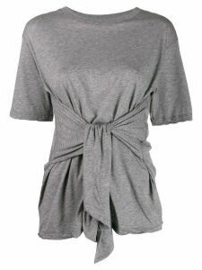 Unravel Project sleeve knot T-shirt - Grey