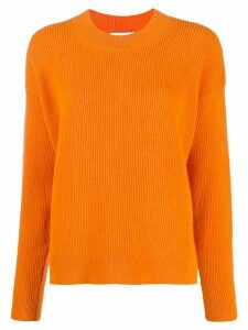 Christian Wijnants long-sleeve flared jumper - Orange