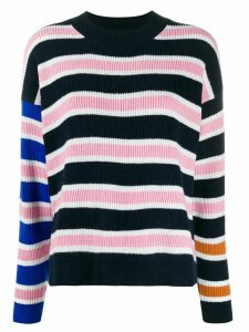 Christian Wijnants stripe long-sleeve jumper - Blue