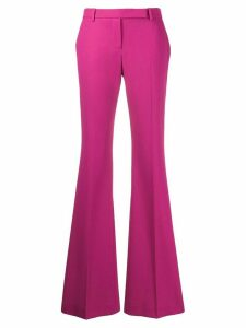 Alexander McQueen flared trousers - PINK